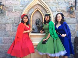 dapper halloween costumes disneyland dapper day spring 2014 the three good fairies