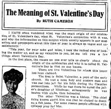 the meaning of st s day newspapers