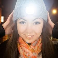 knit hat with led lights beamie led knitted beanie hat