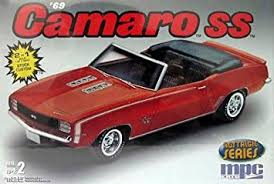 model camaro amazon com mpc nostalgic series 1969 camaro ss model kit by mpc