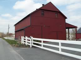 beautiful red barns in lancaster pa as shown in amish stories