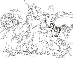 coloring pages colouring pages giraffe coloring pages at