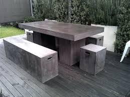 Concrete Patio Table Concrete Patio Furniture Raham Co
