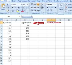 Normal Distribution Table Calculator Frequency Distribution Table In Excel Easy Steps