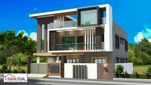 Home Design For 30x60 Plot Double Storey Elevation Two Storey House Elevation 3d Front View