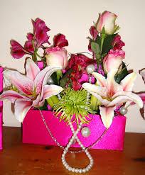 pink diva flower centerpieces the flower godmother