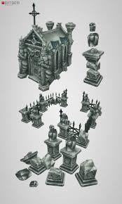 36 best lowpoly graveyard images on pinterest graveyards low