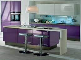 Purple Kitchen Backsplash Purple Kitchen Cabinets Rukle Wall With White Floor And Table Also