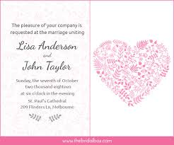 marriage invitation wording india 50 wedding invitation wording ideas you can totally use