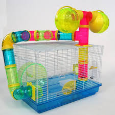 Hamster Cages Petsmart Yml Tubed Hamster Cage In Blue Petco