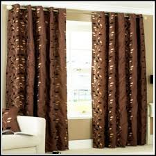 Teal And Red Curtains Chocolate Colored Curtains Striped Insulated Designer Chocolate