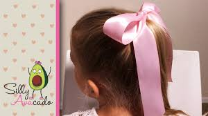 ribbon hair ties how to tie a bow easy ribbon hair bow tutorial