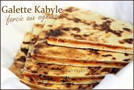 recette de cuisine kabyle galette kabyle farcie aux oignons recettes faciles recettes