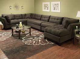 cindy crawford sectional sofa cindy crawford home metropolis contemporary microfiber living