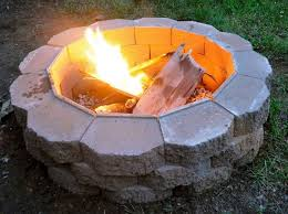 easy ways to build a backyard fire pit wearefound home design