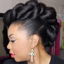 pin up hair styles for black women braided hair stunning wedding hairstyles for black women more com