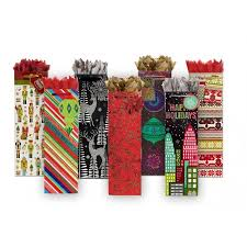 wine gift bag christmas wine gift bags totes box and wrap