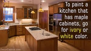 what colors go well with maple cabinets paint maple kitchen cabinets white
