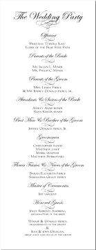 wedding ceremony programs exles carece s orthodox wedding ceremony program