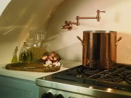 danze d205057ac opulence wall mount pot filler antique copper