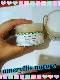 Scrub Muka ameryllis mandian lulur smoothie scrub muka dan badan p29524
