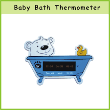 oem promotional baby shower water thermometer bath thermometer