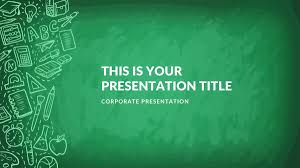 Kindergarten Free Google Slides Keynote Theme And Powerpoint Template Powerpoint Theme