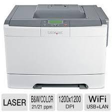 lexmark c540dw wireless color laser printer 1200 x 1200 dpi up
