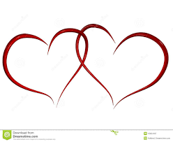 two hearts together clipart 57
