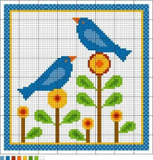 134 best cross stitch birds images on crossstitch