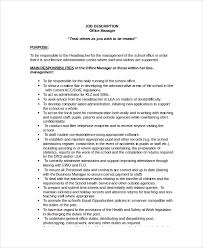job description template word 7 free word documents download