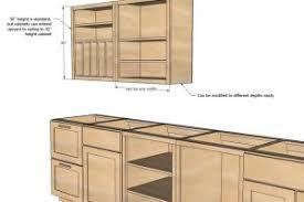 superb diy kitchen cabinets plans flatblack co