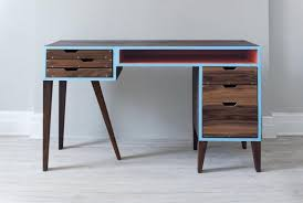 Modern Desk With Drawers Charming Modern Desks With Drawers And Contemporary Two Drawer
