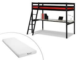 lit mezzanine noir avec bureau lit mezzanine noir avec bureau helvia co