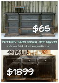 Pottery Barn Furniture Pottery Barn Knock Off Themed Furniture Makeovers Petticoat Junktion