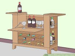 how to make your own liquor cabinet 13 steps with pictures