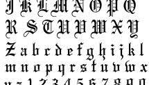 alphabet tattoo fonts 317 image gallery 437 cute tattoo design