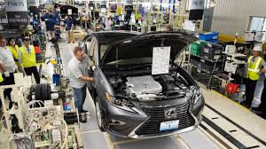 lexus usa manufacturing lexus starts production in u s