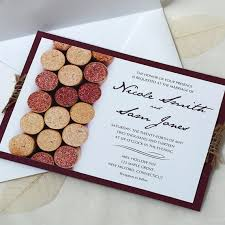 vineyard wedding invitations wine cork wedding invitation vineyard wedding invitation
