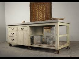 century industrial antique pine workbench kitchen island shop counter