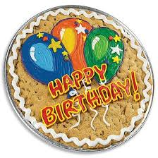 cookie cake delivery birthday balloons cookie cake cookie cookies by design