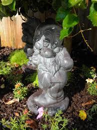 Cool Garden Ornaments Cool Disney Garden Decor Retired Statue One Of 7 Pieces Gardening