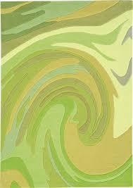 Modern Green Rugs Sneh Rugs Designer Des 006 Twirl Green Modern Designer Rugs