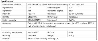 solar powered runway lights solar obstruction runway light