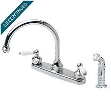 kitchen faucet handles polished chrome white porcelain 2 handle kitchen faucet