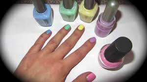 how to make pastel color nail polishes come realizzare smalti