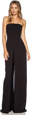 strapless jumpsuit black heritage strapless jumpsuit where to buy how to wear