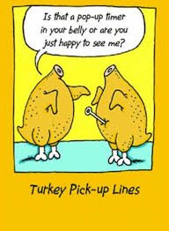 haha turkey up lines my strange sense of humor