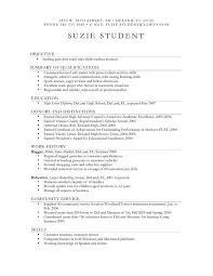 Resume Community Service Example by Graduate Application Resume Template Resume For Graduate