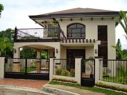 2 story home designs 30 beautiful 2 storey house photos bahay ofw 1 5 story home